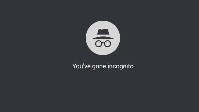 โหมดไม่ระบุตัวตน (Incognito)